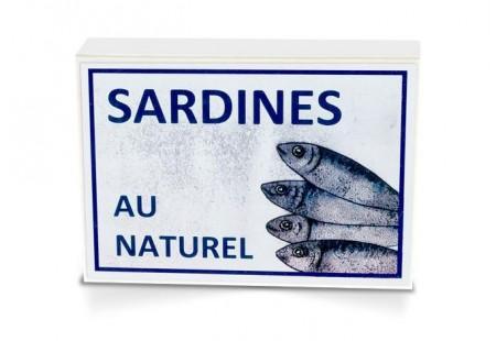 Boite collector - Sardines au naturel - 1/6
