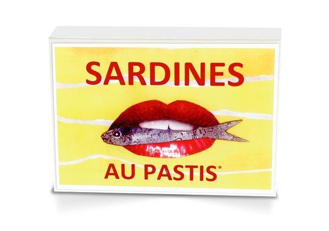 Boite collector - Sardines à l'huile d'olive extra vierge et pastis bio* - 1/6