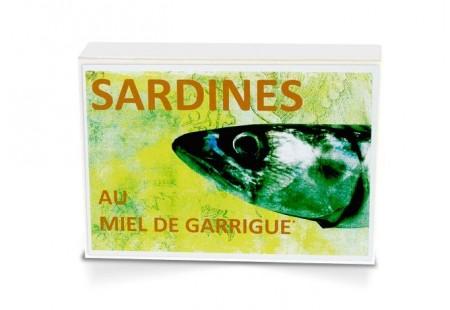 Boite collector -  Sardines au miel de Garrigue bio* - 1/6