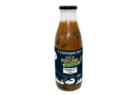 Soupe de Poissons aux 3 algues bio*
