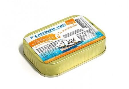 Filets de maquereaux à la moutarde - Format 1/6 - Capitaine Nat