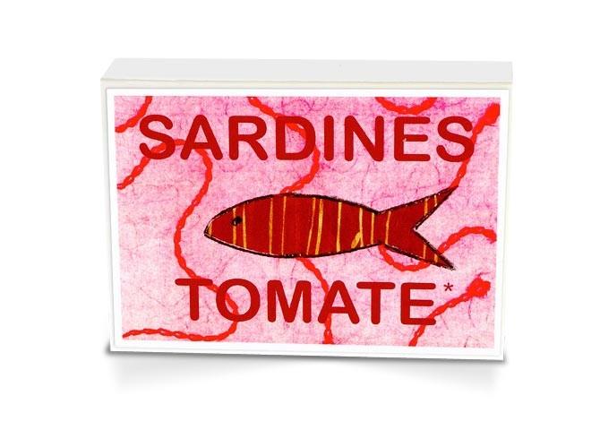 Boite collector - Sardines à l'huile d'olive bio* et tomates bio* - 1/6