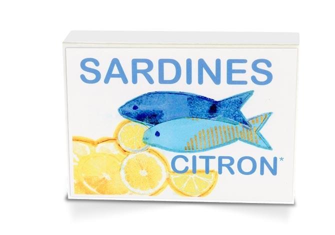 Boite collector - Sardines à l'huile d'olive bio* et citron bio - Format 1/6