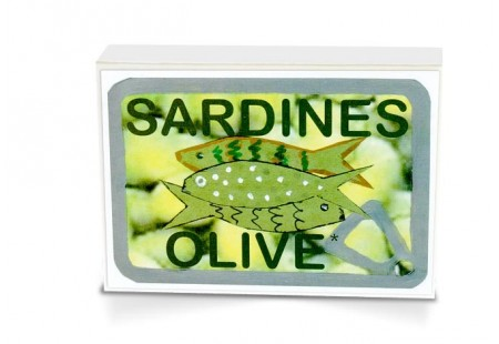 Boite collector - Sardines à l'huile d'olive vierge extra bio - Format 1/6 - Capitaine Nat